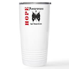 Melanoma Hope Stainless Steel Travel Mug