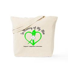 Lymphoma Memory Mom Tote Bag