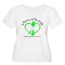 Lymphoma Memory Grandpa T-Shirt