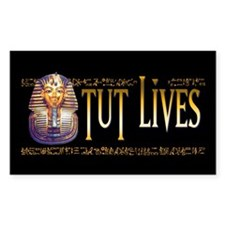 Tut Lives Rectangle Decal