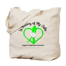 Lymphoma Memory Father Tote Bag