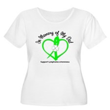 Lymphoma Memory Dad T-Shirt