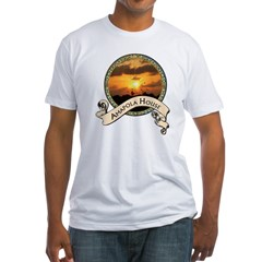 Amapola House in Rincon, PR Fitted T-Shirt