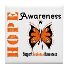Leukemia Hope Tile Coaster