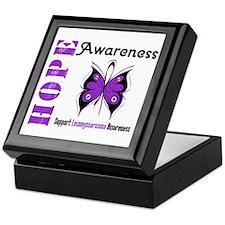 Leiomyosarcoma Hope Keepsake Box