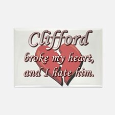 Clifford broke my heart and I hate him Rectangle M