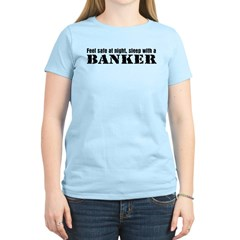 Feel Safe with a Banker T-Shirt