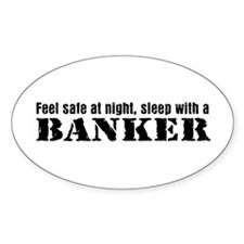 Feel Safe with a Banker Oval Decal