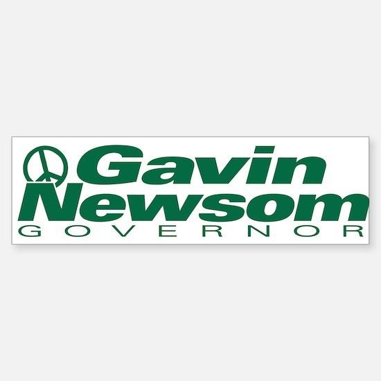 Gavin Newsom for Governor of Bumper Bumper Bumper Sticker