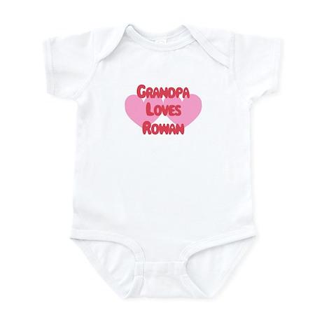 Grandpa Loves Rowan Infant Bodysuit