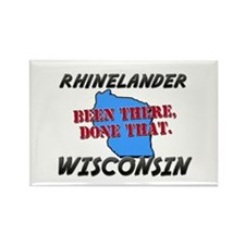 rhinelander wisconsin - been there, done that Rect