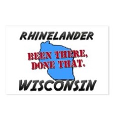 rhinelander wisconsin - been there, done that Post