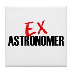 Ex Astronomer Tile Coaster