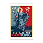 God-King Mini Poster Print