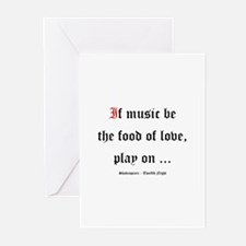 Shakespeare Greeting Cards (Pk of 20)