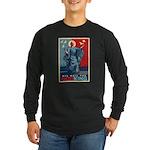 God-King Long Sleeve Dark T-Shirt