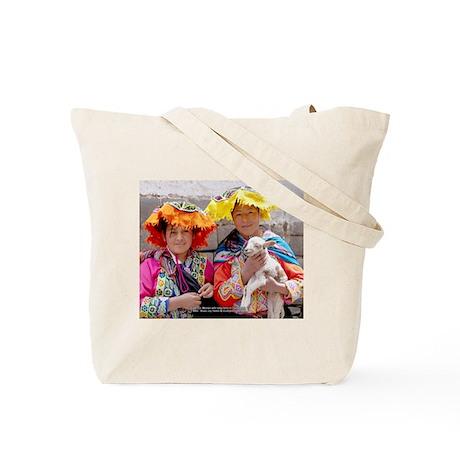 Young Women of Peru - Tote Bag