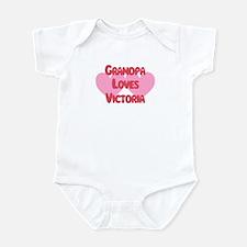Grandpa Loves Victoria Infant Bodysuit