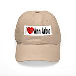 I Love Ann Arbor Michigan Cap
