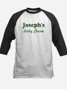 Josephs Lucky Charm Kids Baseball Jersey
