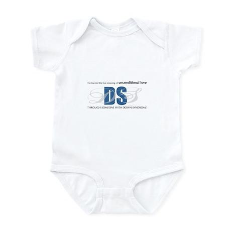 I've learned unconditional lo Infant Bodysuit