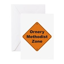 Methodist / Ornery Greeting Cards (Pk of 10)