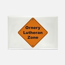 Lutheran / Ornery Rectangle Magnet (10 pack)