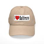 I Love Baltimore Maryland Cap