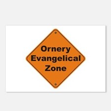 Evangelical / Ornery Postcards (Package of 8)