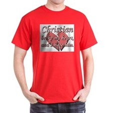 Christian broke my heart and I hate him T-Shirt