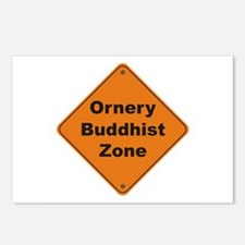 Buddhist / Ornery Postcards (Package of 8)