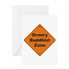 Buddhist / Ornery Greeting Card