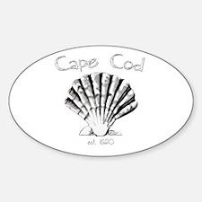 Cape Cod Est.1620 Sticker (Oval)