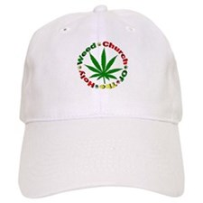 Holy Weed Church Baseball Cap