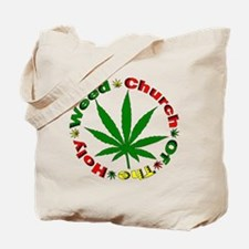 Holy Weed Church Tote Bag