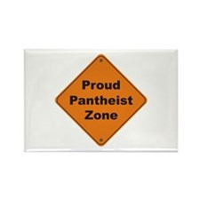 Pantheist Zone Rectangle Magnet