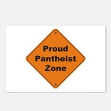 Pantheist Zone Postcards (Package of 8)