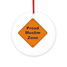 Muslim Zone Ornament (Round)