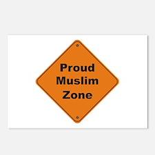 Muslim Zone Postcards (Package of 8)
