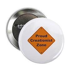 """Creationist Zone 2.25"""" Button"""