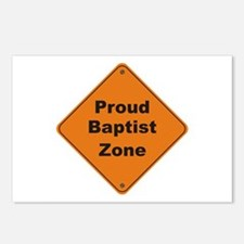 Baptist Zone Postcards (Package of 8)