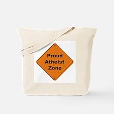 Atheist Zone Tote Bag