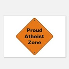 Atheist Zone Postcards (Package of 8)