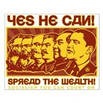 Spread the Wealth Small Poster