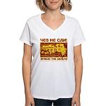 Spread the Wealth Women's V-Neck T-Shirt