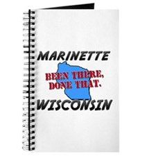 marinette wisconsin - been there, done that Journa