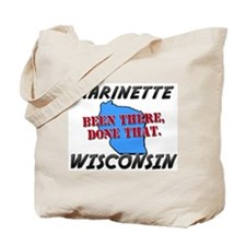 marinette wisconsin - been there, done that Tote B