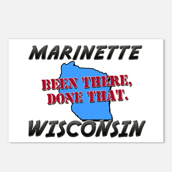 marinette wisconsin - been there, done that Postca