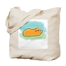Simple Guinea Pig Tote Bag