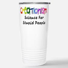 Anti-Creationism Stainless Steel Travel Mug